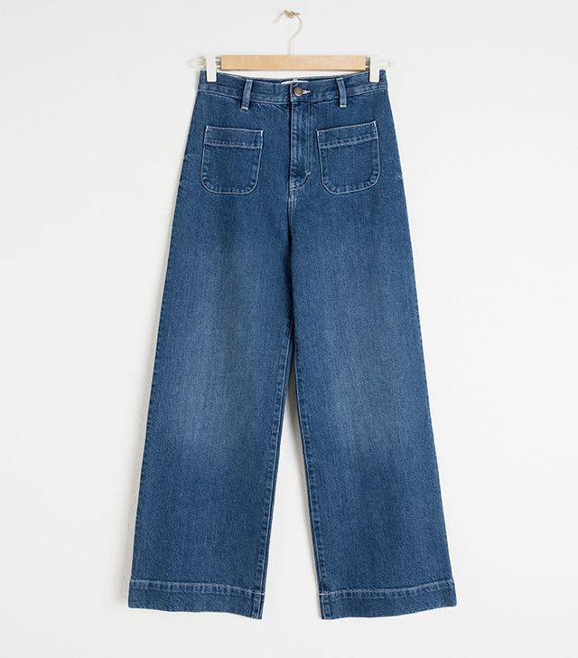 & Other Stories Semi-Stretch Workwear Jeans