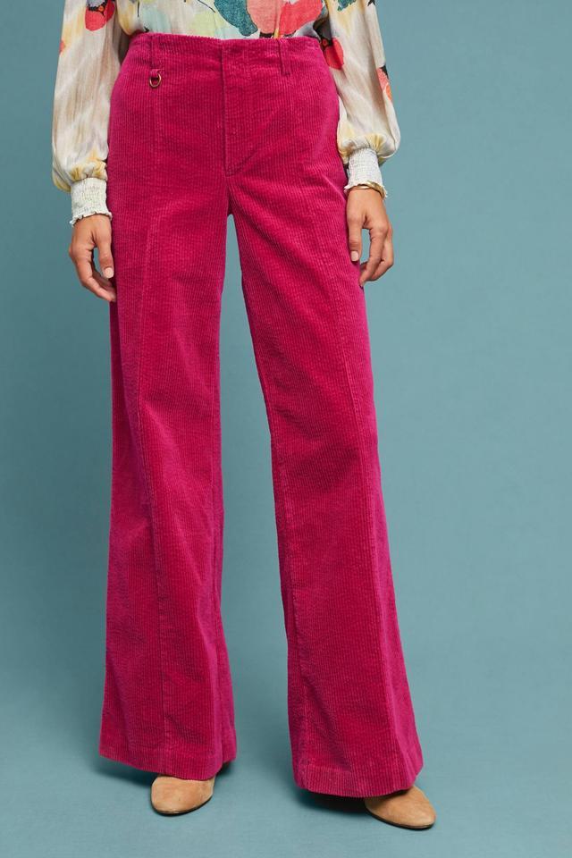 Wide-Wale Corduroy Trousers