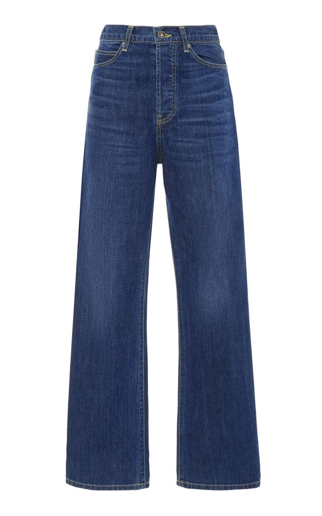 Juliette High-Rise Straight-Leg Jeans