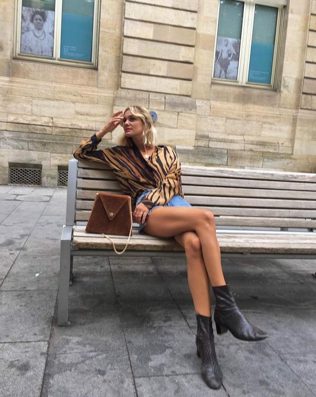 French Girl Adenorah in Ankle Boots