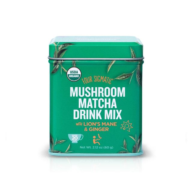 Four Sigmatic Mushroom Matcha with Lion's Mane and Ginger