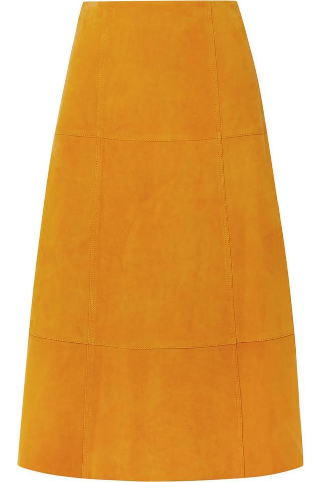 Ryker Suede Midi Skirt