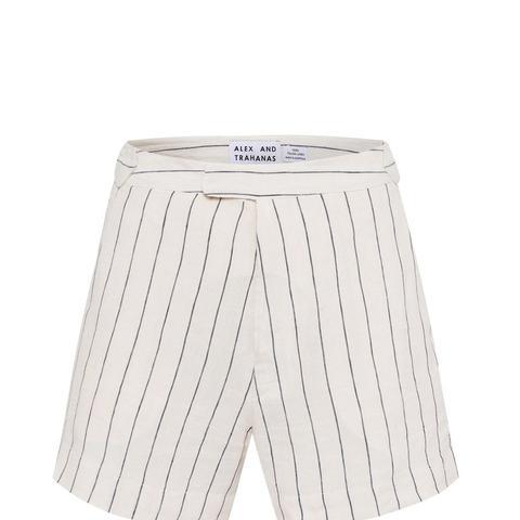 Italian Linen Tailored Shorts