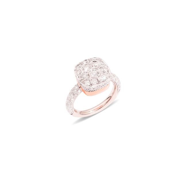 Pomellato Ring Nudo with Diamonds