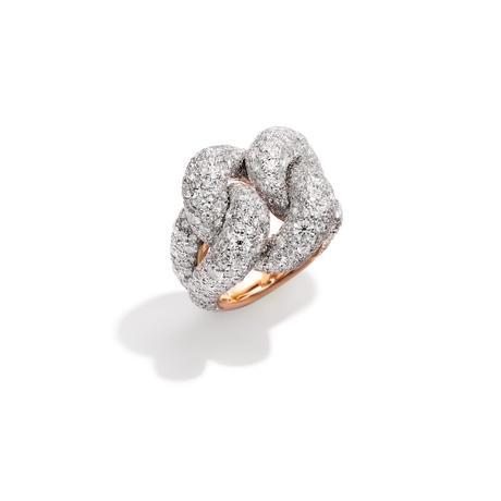 Pomellato Tango Ring with Diamonds