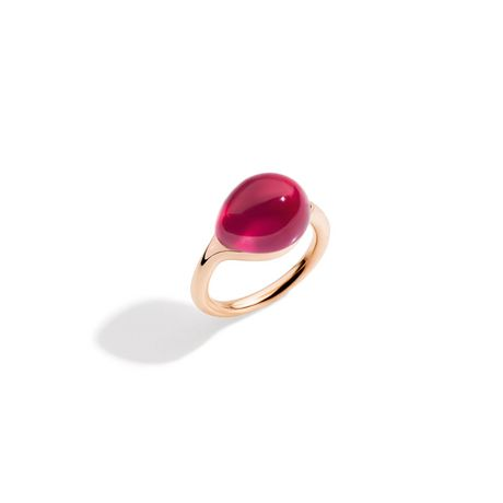 Pomellato Rouge Passion Ring with Synthetic Ruby