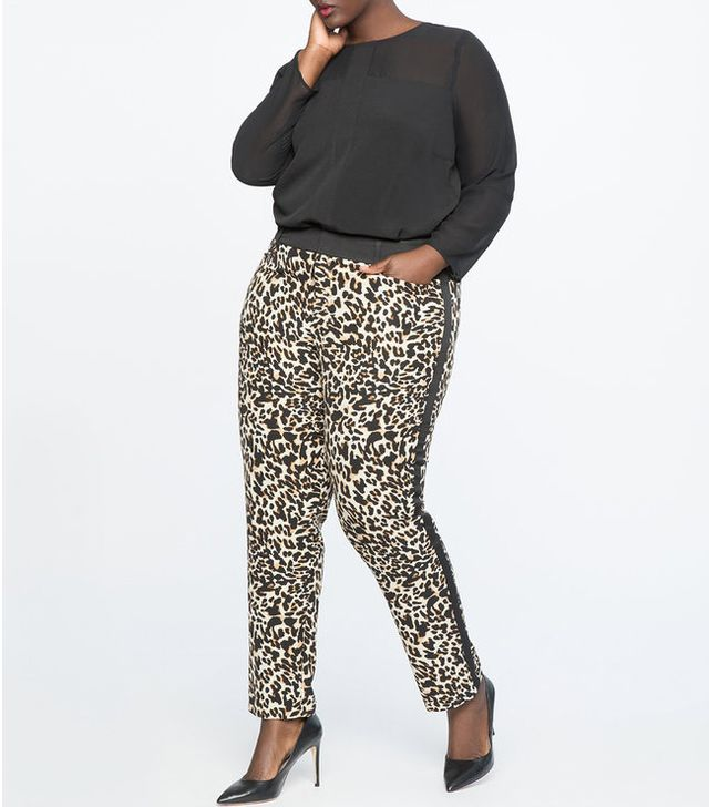 Eloquii Leopard Kady Pants