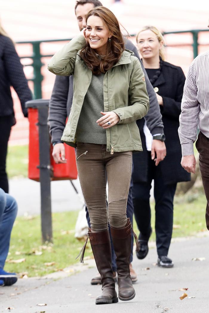 Kate Middleton Wore Zara Moto Skinny Jeans Again Who