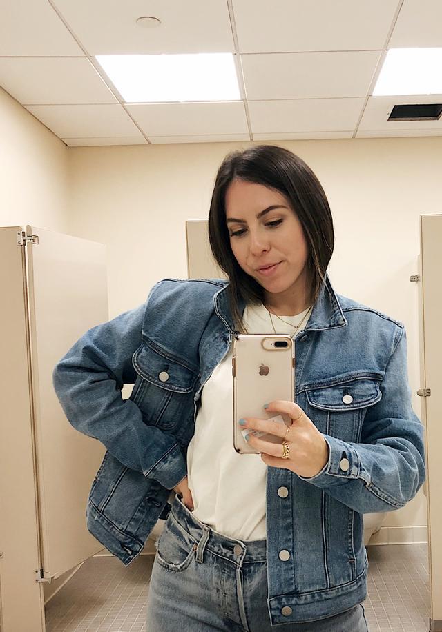 Easy Outfit Ideas - Denim on Denim