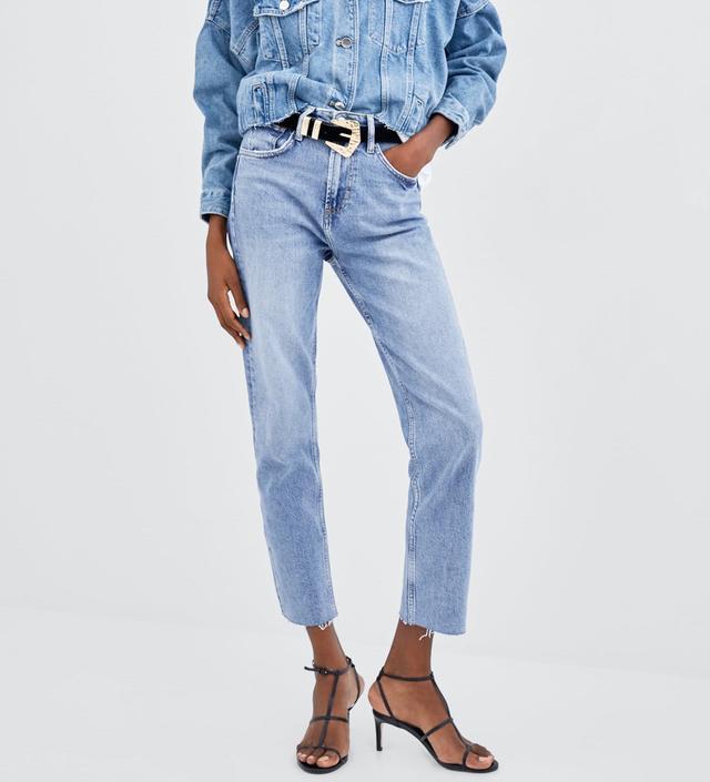 Zara Hi-Rise Straight Jeans