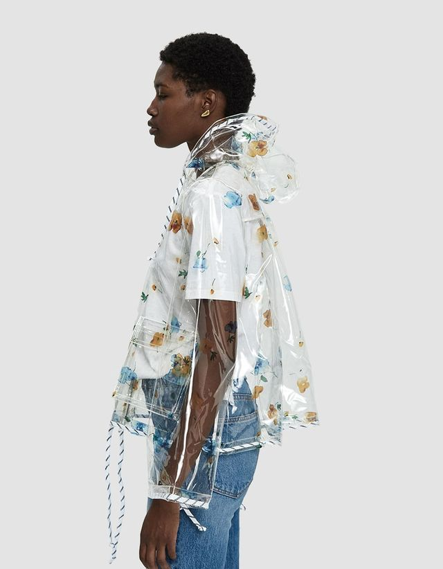 Petunia Transparent Rain Jacket