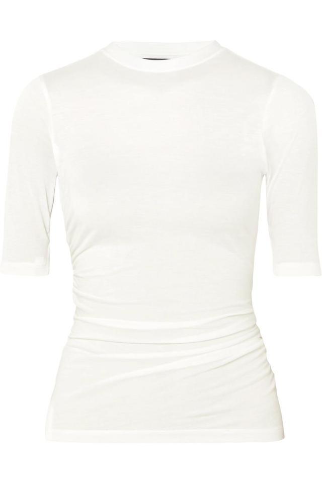 Le Souk Ruched Jersey T-shirt
