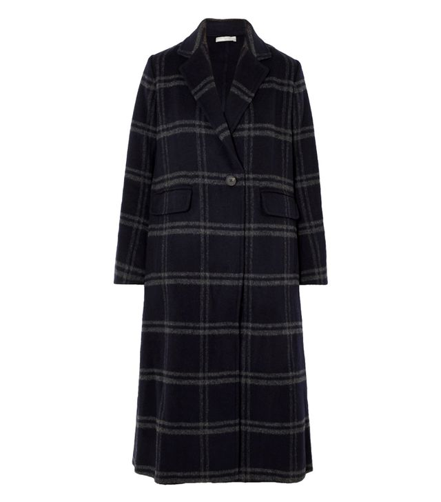 Vince Shadow Checked Coat