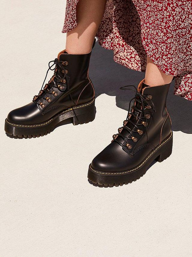 Leona Platform Ankle Boot at Free People