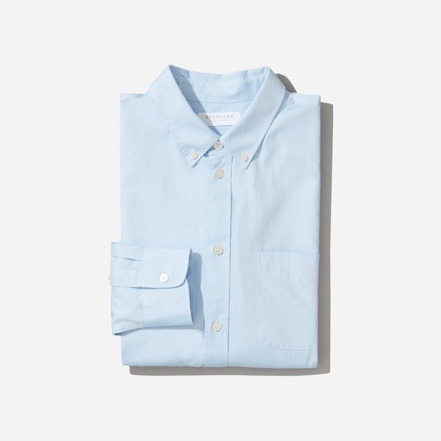 Air Oxford Shirt by Everlane in Sky Blue