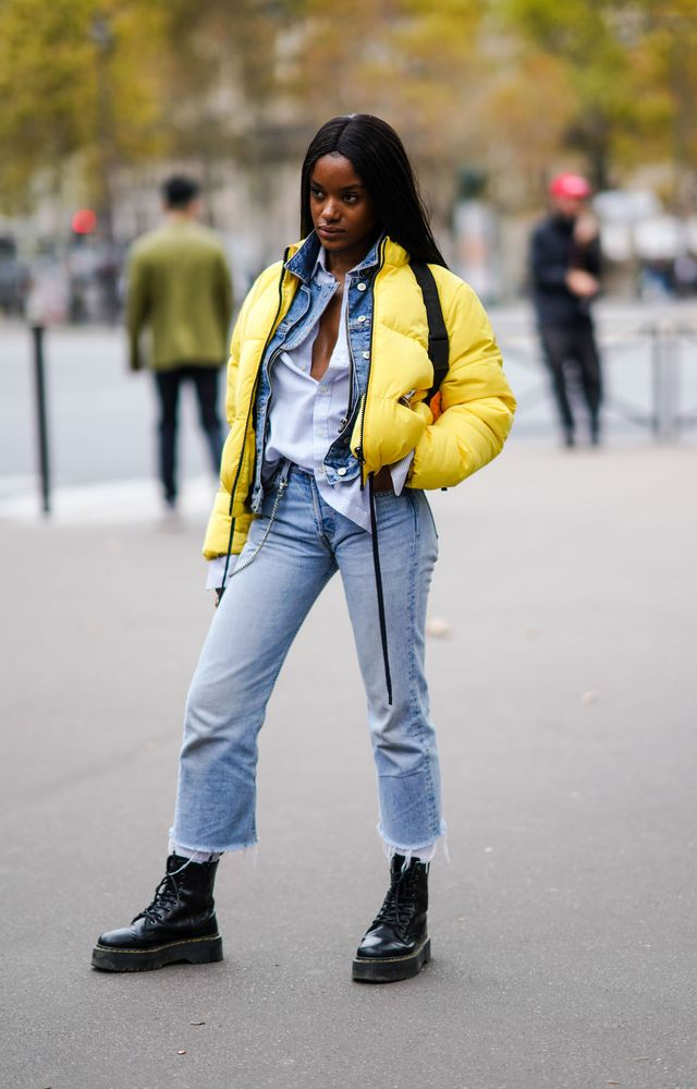 Boots and Jeans Paris Street Style