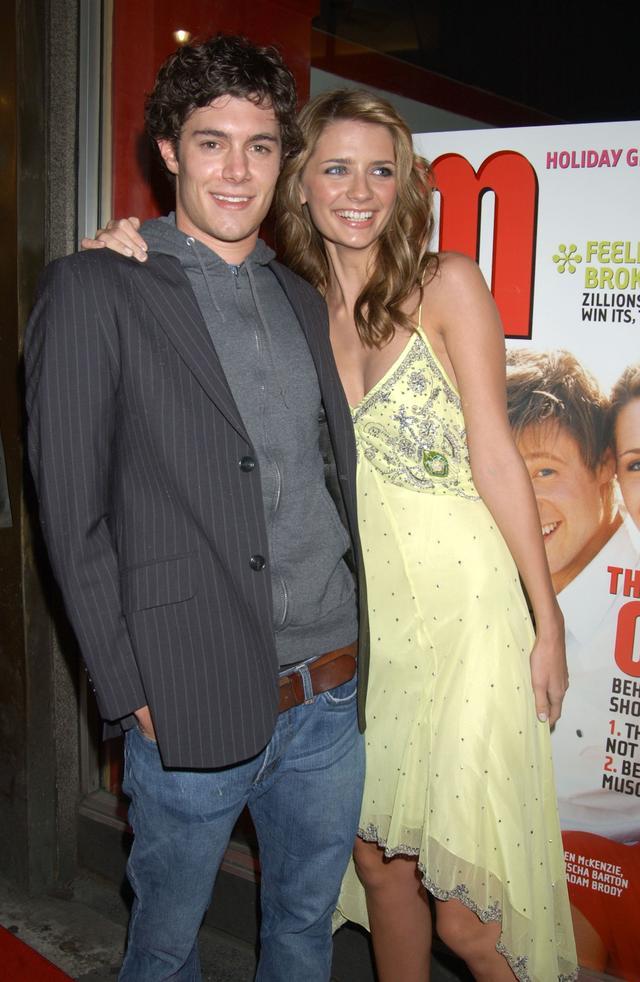Mischa Barton and Adam Brody