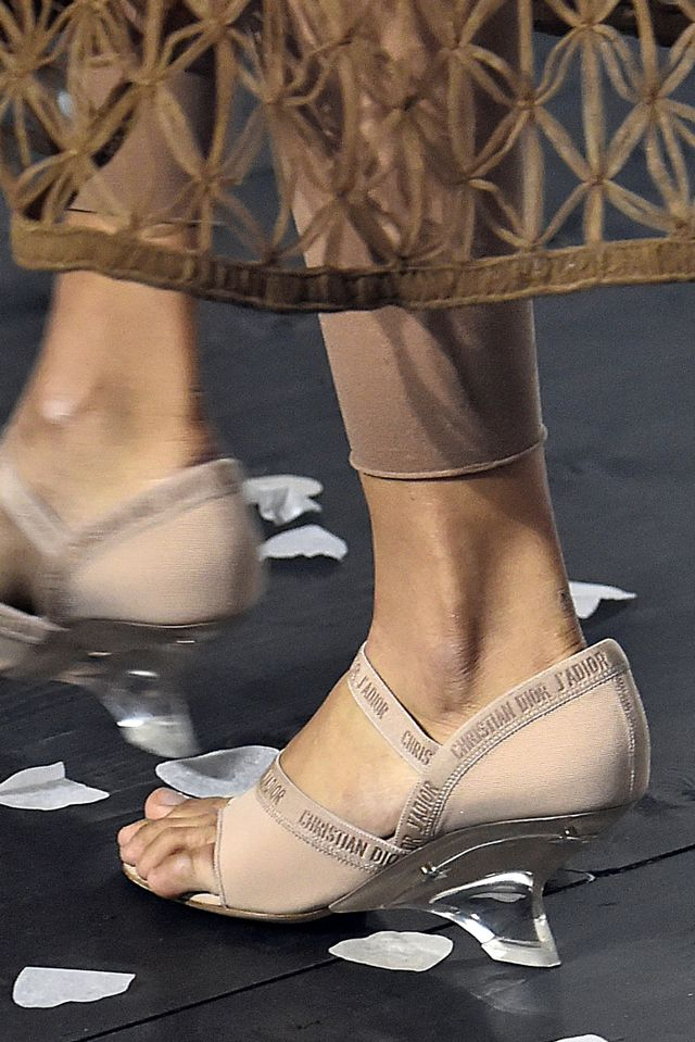 Spring 2019 shoe trends: Dior S/S 19