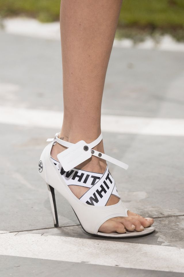 Spring 2019 shoe trends: Off-White S/S 19