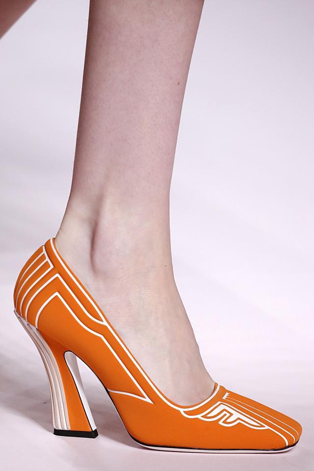 Spring 2019 shoe trends: Fendi S/S 19