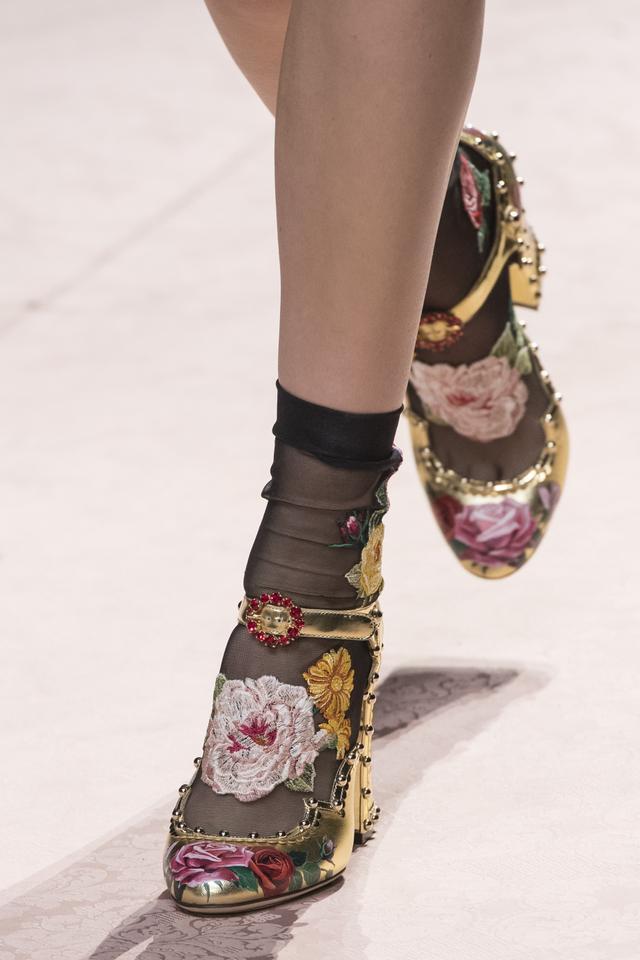 Spring 2019 shoe trends: Dolce & Gabbana S/S 19