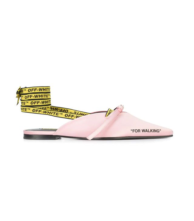 For Walking Pointed Flats