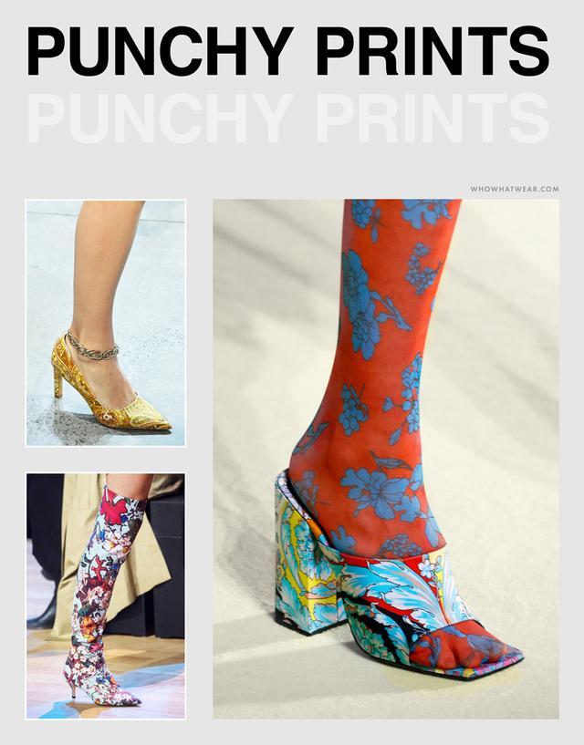 Spring shoe trends 2019: prints