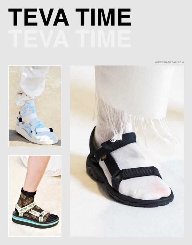 Spring shoe trends 2019: Tevas