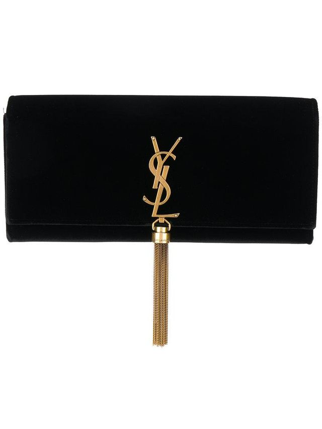 Kate tassel clutch