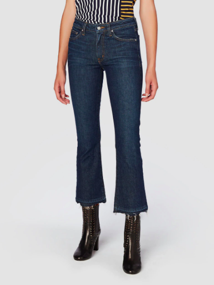 Derek Lam Gia Mid-Rise Cropped Flare