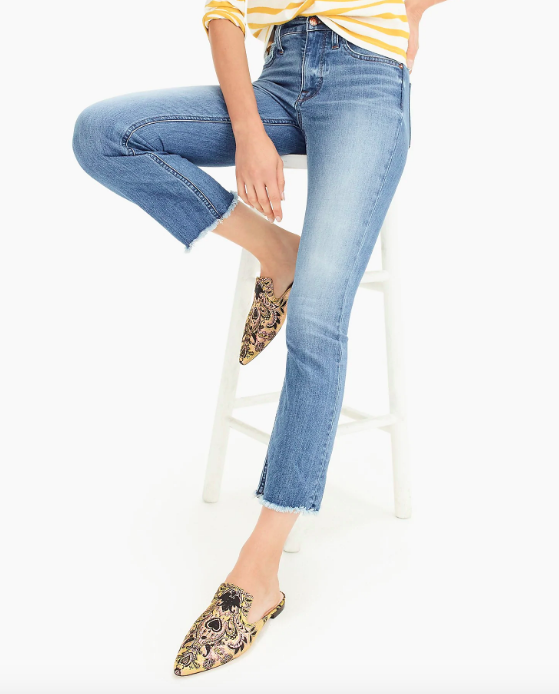 J.Crew Billie Demi-Boot Crop Eco Jeans