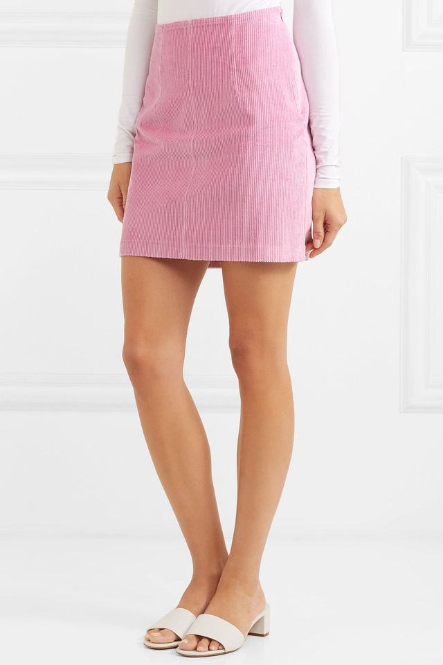 Phoebe Corduroy Mini Skirt