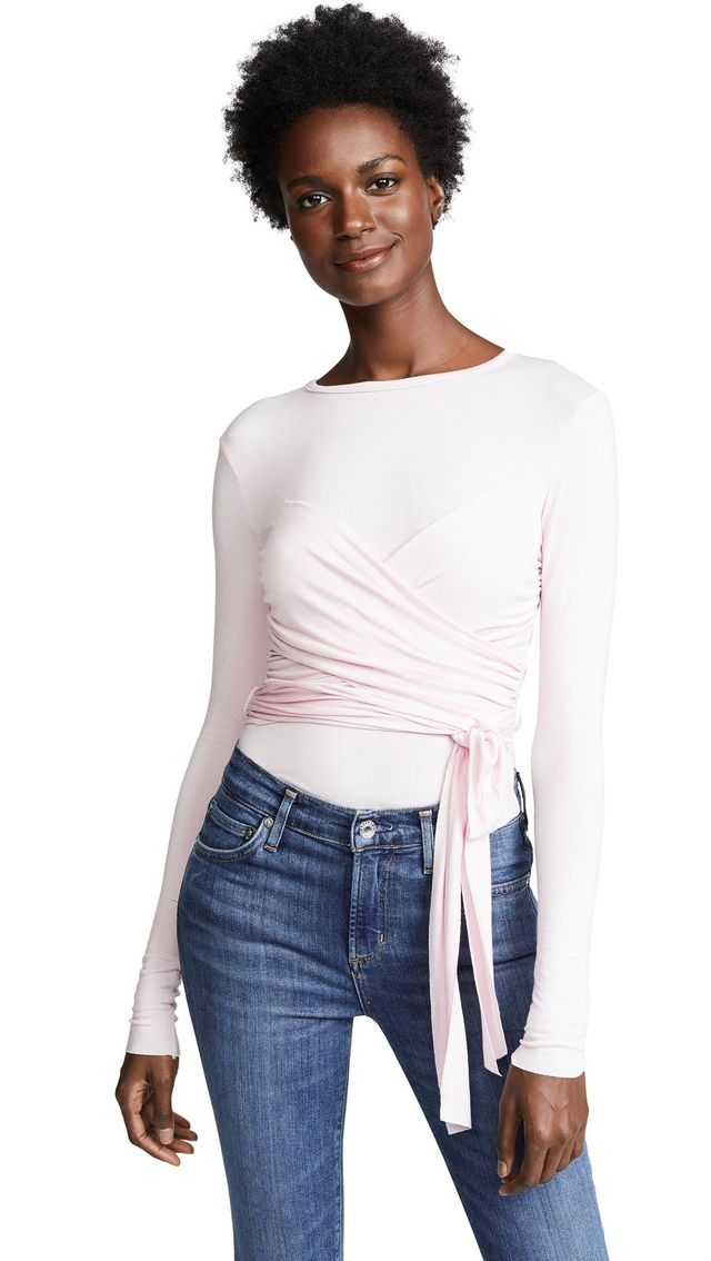 All or Nothing Wrap Top