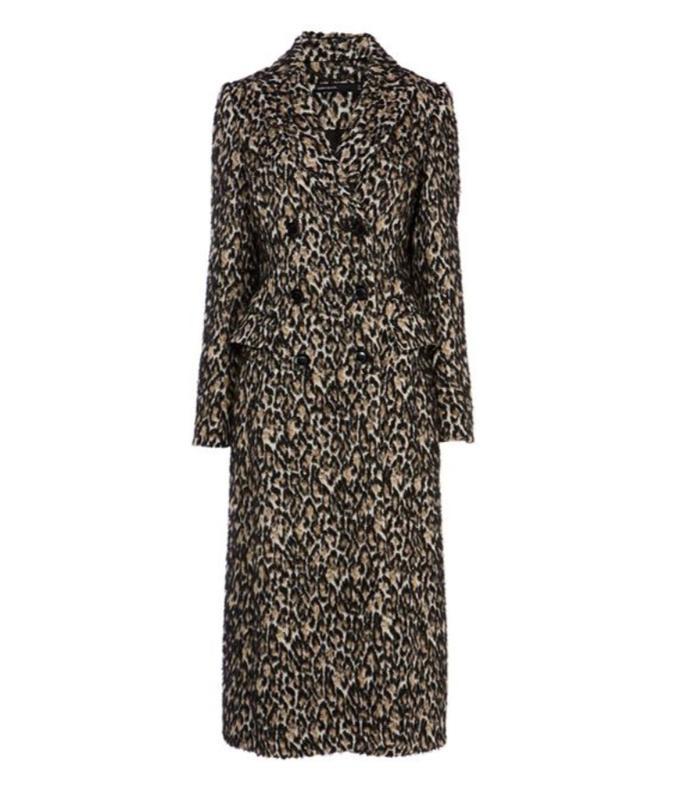d3ac4d4a165c The Best High-Street Leopard Print Coats   Who What Wear