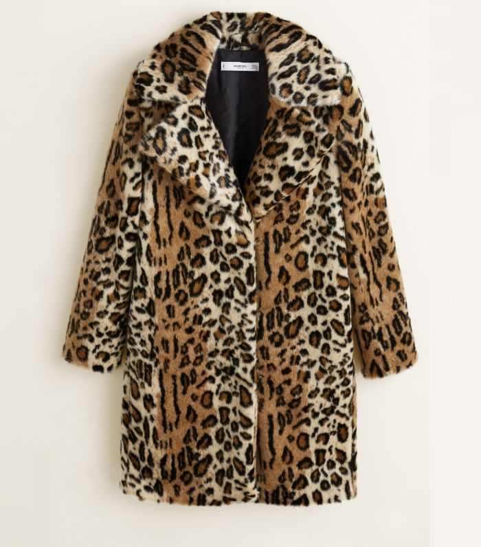 6111a0b4e35b The Best High-Street Leopard Print Coats   Who What Wear UK