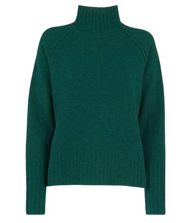 Whistles Funnel Neck Wool Knit