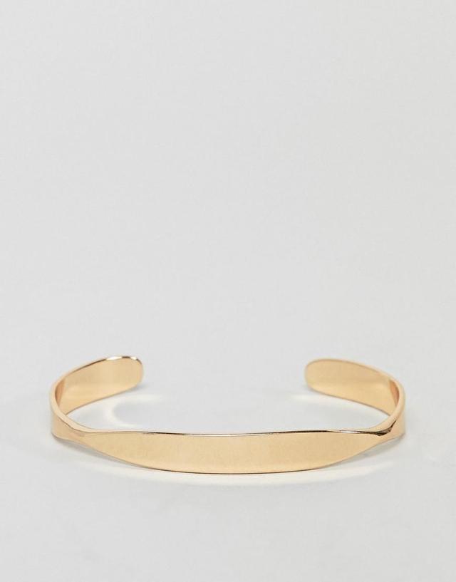 DESIGN Angled Flat Face Cuff Bracelet
