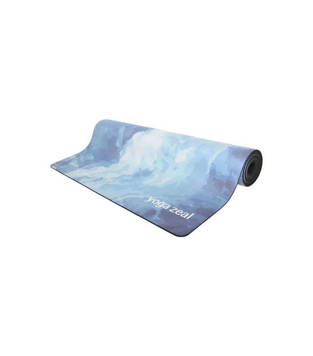 Yoga Zeal Ocean Print Yoga Mat