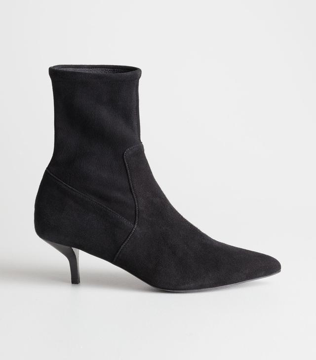 & Other Stories Kitten Heel Boots