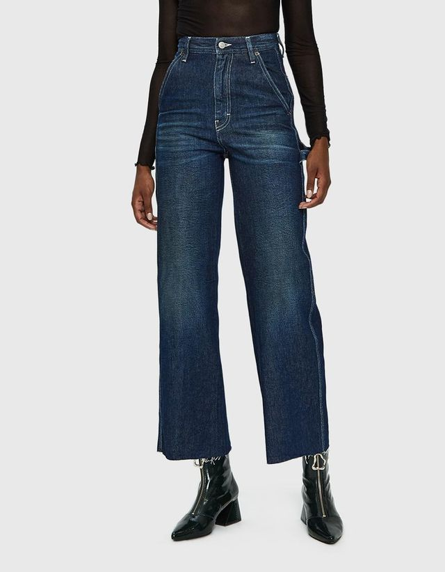 High-Waisted Denim Pant