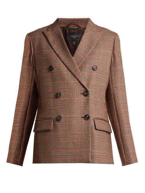- Monile Blazer - Womens - Brown Multi