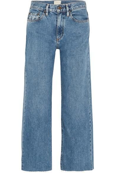 W006 Marlo High-rise Wide-leg Jeans