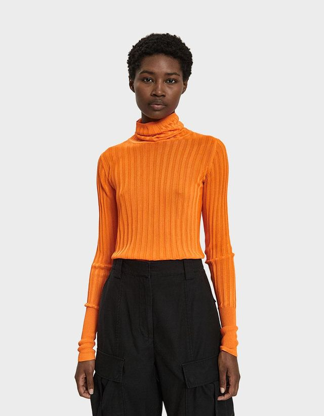 Shape Turtleneck Sweater
