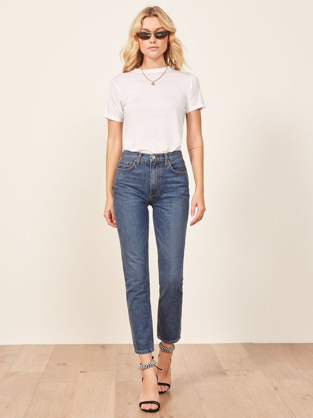 Julia Crop High Cigarette Jean