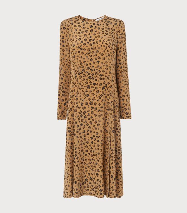 L.K.Bennett Leanie Animal Print Dress