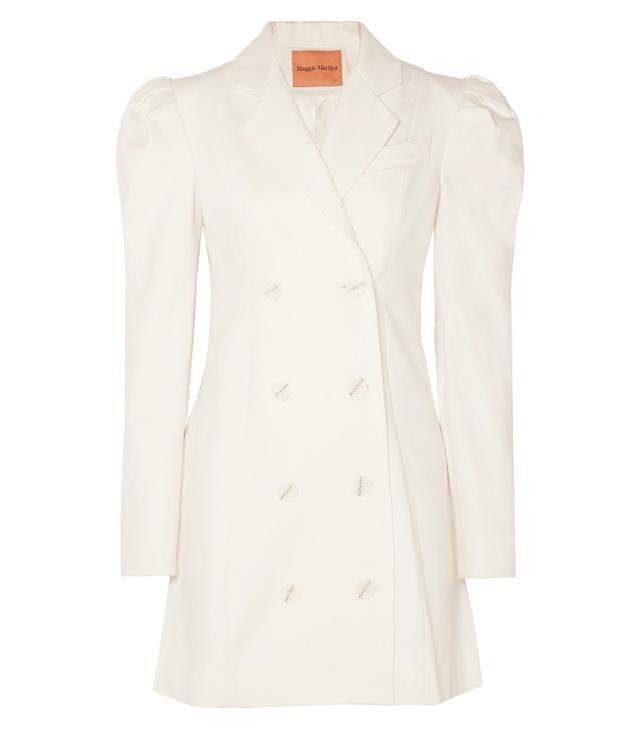 Leap Of Faith Cotton-twill Mini Dress