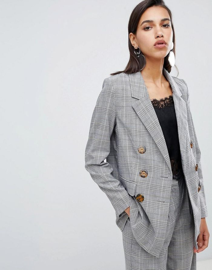 25 Plaid Blazers To Wear With Everything Who What Wear