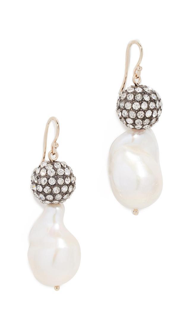 Cole Freshwater Cultured Pearl Earrings