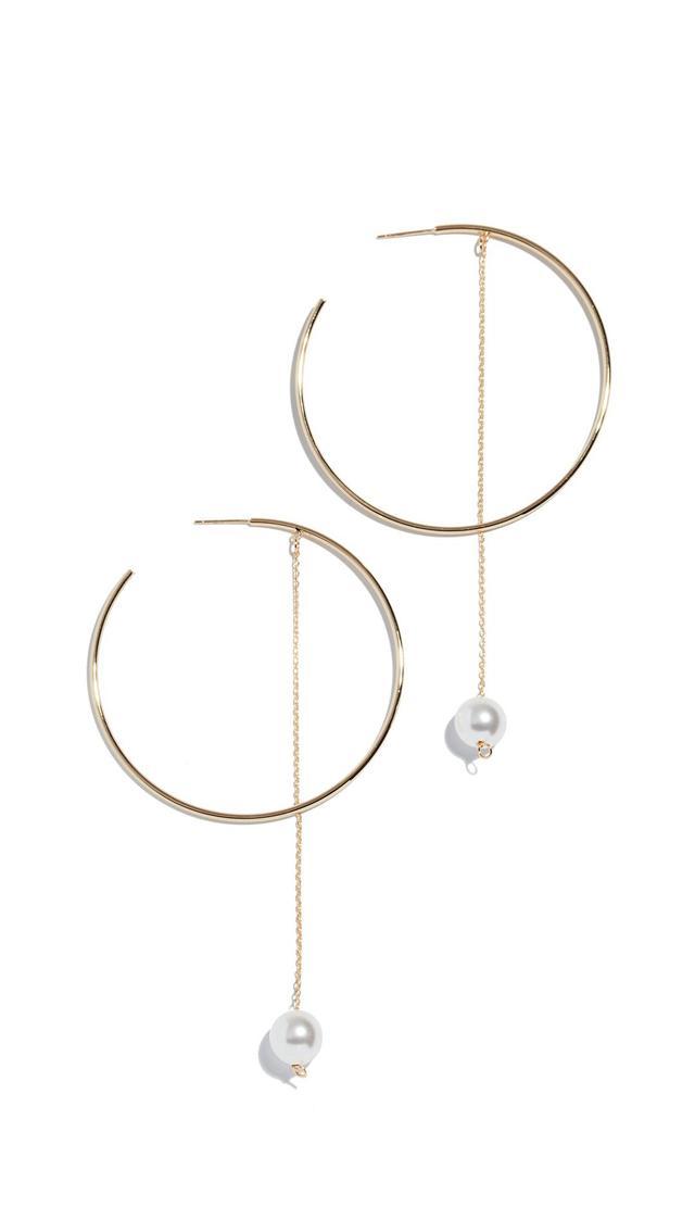Twirl Hoop Earrings