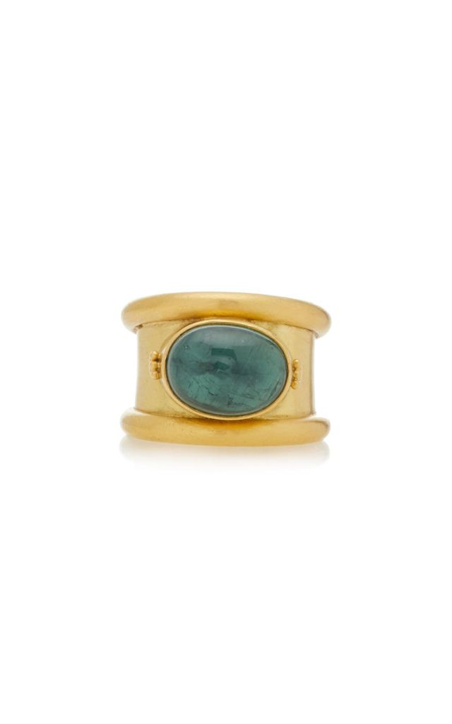 One-Of-A-Kind Green Tourmaline Calda Ring